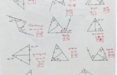 Triangle Sum And Exterior Angle Theorem Worksheet Multiplication inside Triangle Sum And Exterior Angle Theorem Worksheet