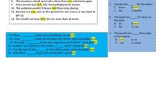 Troublesome Verbs Part 1 Lay Lie Set Let Leave Worksheet  Free in Troublesome Verbs Worksheets With Answers