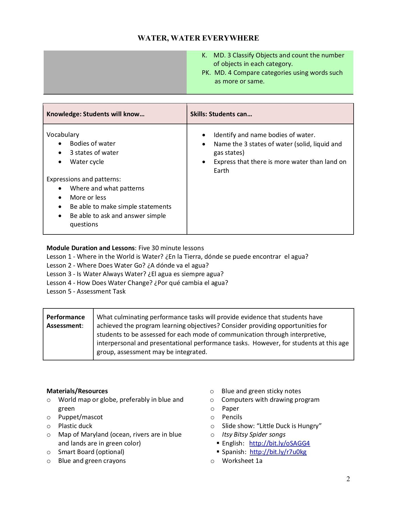 Water Water Everywhere Intended For Water Water Everywhere Worksheet Answers