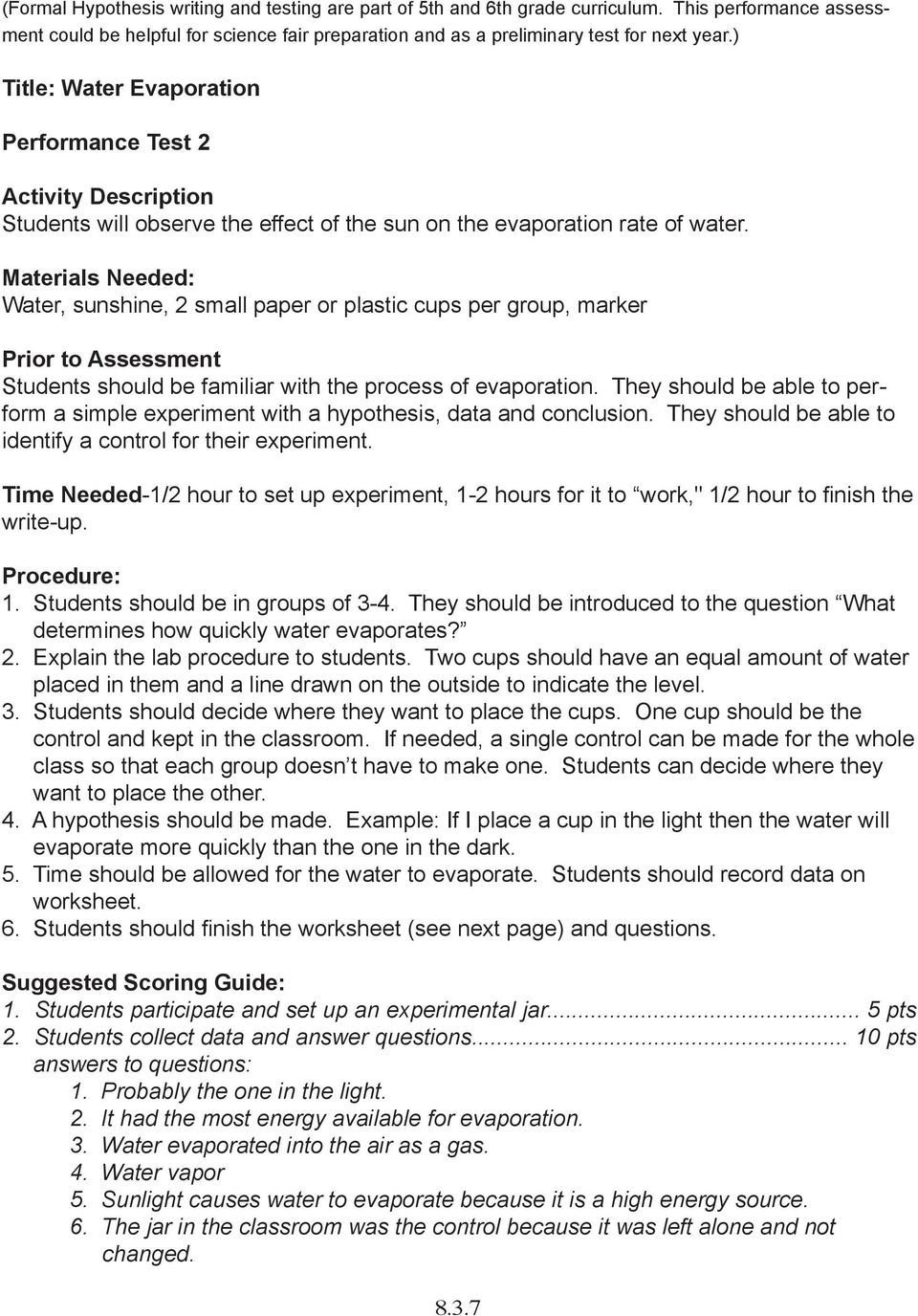Water Water Everywhere Worksheet Answers  Briefencounters Inside Water Water Everywhere Worksheet Answers