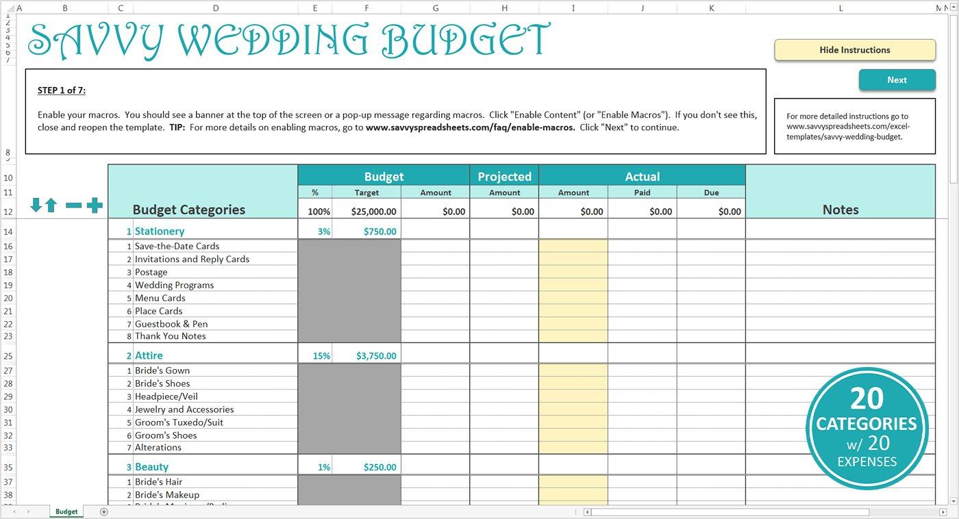 Wedding Budget Template 5  Cover Letter For Wedding Budget Worksheet