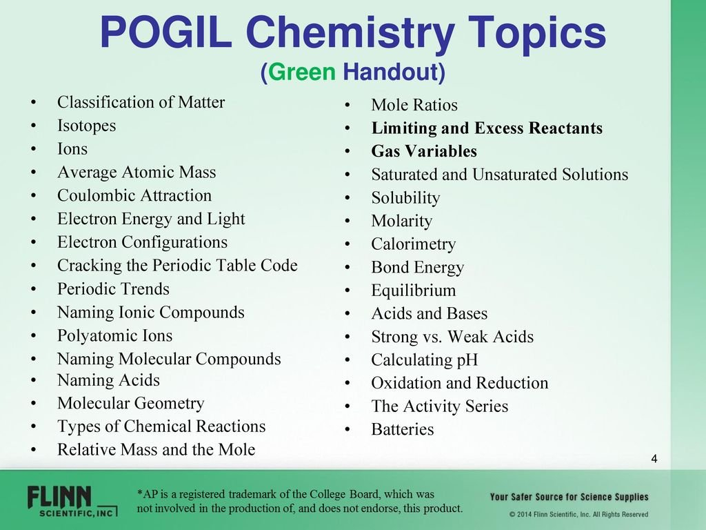 Welcome Flinn Scientific Enhance Your Science Curriculum With Pogil As Well As Cracking The Periodic Table Code Worksheet Answers
