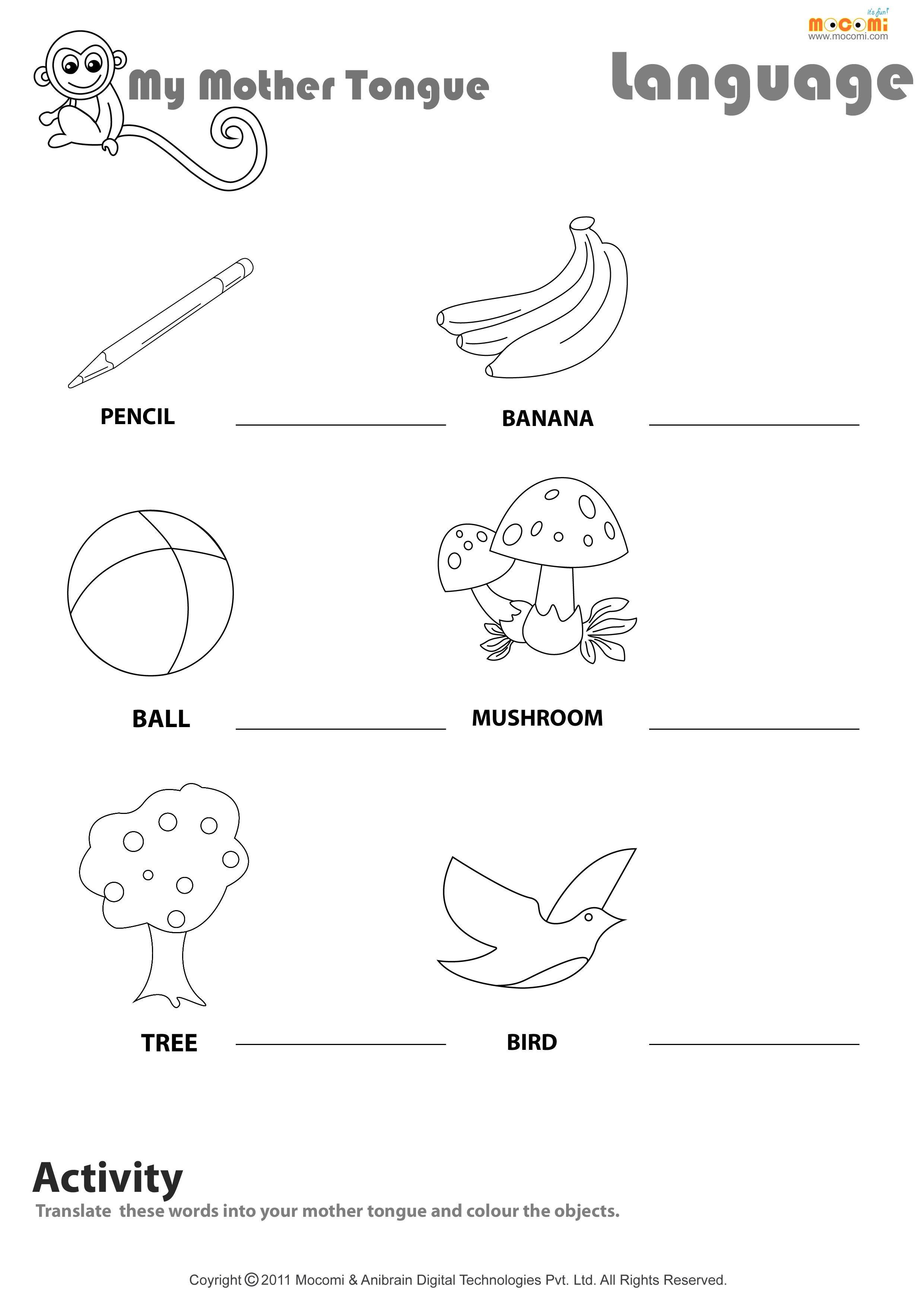 Worksheet Learning English Worksheets Improve English Grammar Intended For Learning English For Kids Worksheets