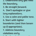 10 Steps To Setting Healthy Boundaries  Happily Imperfect Intended For Setting Healthy Boundaries In Recovery Worksheets