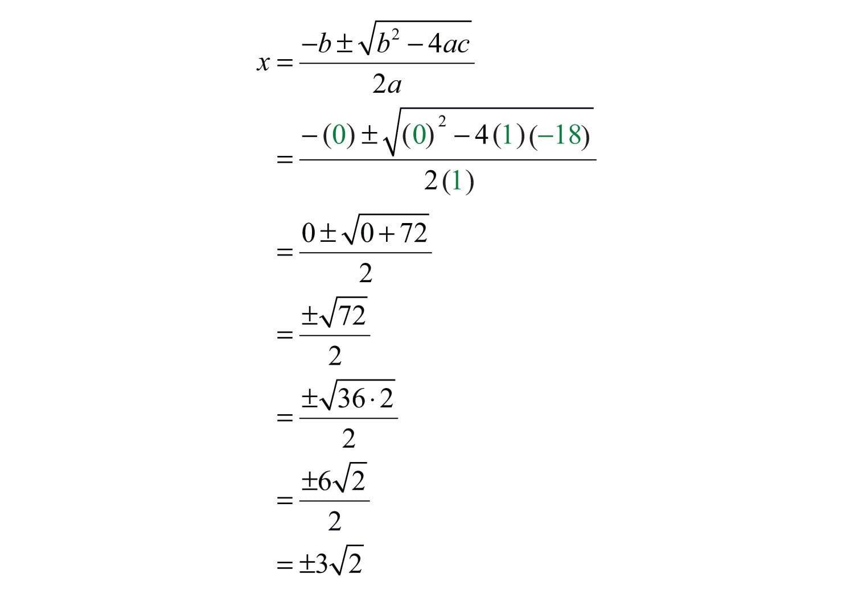 Quadratic Formula Along With Solving Using The Quadratic Formula Worksheet Answer Key